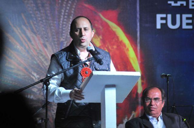 El secretario General de Gobierno del Estado de Puebla, Fernando Manzanilla.foto: Erasmo Calderón
