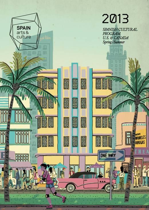 Portada del catálogo, obra del dibujante valenciano Paco Roca.