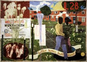 Kerry James Marshall, Better Homes, Better GArdens, 1994.