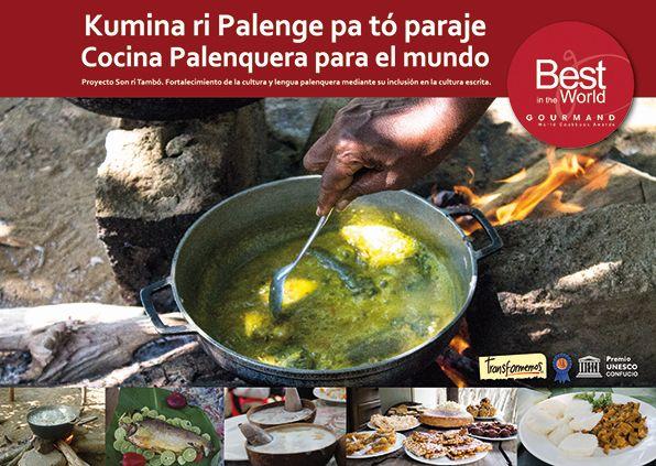"""El libro """"Cocina palenquera para el mundo"""" cambió la vida de quienes lo escribieron y creatambién una profunda emoción a quienes lo leen"""", dijo Edouard Cointreau, Presidente de Gourmand World Cookbook Awards."""
