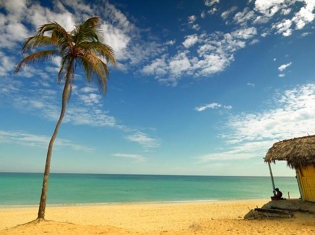 Cuba, playa frente al mar Caribe: Nick Kenrick