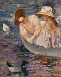 Mary Cassatt. Verano, 1894. Terra Foundation for American Art, Chicago, Daniel J. Terra Collection.