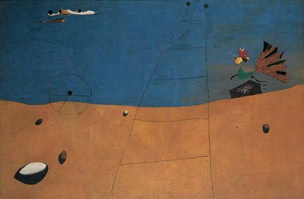 Paysage au coq, 1927. Joan Miró.