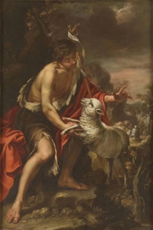 San Juan Bautista. Juan de Valdés Leal (1622-1690)Óleo sobre lienzo, 206 x 148 cm. Madrid, Museo Nacionaldel Prado. Donación Plácido Arango.