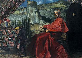 El cardenal,  Ignacio Zuloaga, 1912.