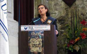 Sonia Nazario, periodista estadounidense y especialista en temas de migración y justicia es nueva Profesora Honoraria Visitante de la UAEH.